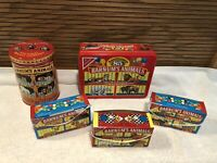 BARNUMS ANIMALS BY NABISCO CRACKER COMPANY  2 TINS & 3 BOXES