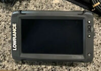 Lowrance Elite-9 TI Combo With LSS2 Transducer. Great Condition