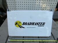 Vintage Gas Station Cooper Tire Display Stand Original Roadmaster Garage Hot Rod