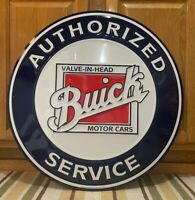 Buick Car Service Metal Sign Garage Vintage Style Wall Decor Tools Oil Gas Bar