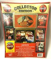Santa Claus Collector Edition Coca Cola Playing Cards New Sealed Collectibles
