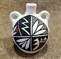 Native American Southwestern Handcrafted Pottery by the Acoma Pueblo of New Mexi