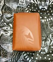 Starbucks Philippines Orange Travel Organizer with notebook Free Shipping