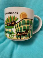 Starbucks New Orleans Ceramic Coffee Mug You Are Here Series Cup New In Box