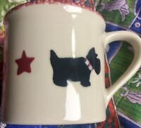 NEW MINT Starbucks Barista HARTSTONE Handpainted SCOTTIE DOG Mug Cup Free Ship