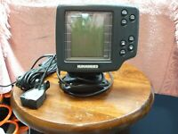 Humminbird Wide One Hundred Fish Finder W/ Power Cord/ Transducer