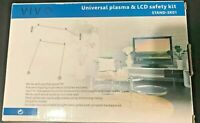 VIVO Universal Plasma and LCD Safety Kit Stand SK01 $16.99