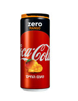 New Unopened Coca cola Zero Mango Flavor Limited edition 330ml Can 2020