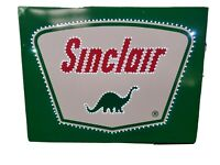 Sinclair lighted  Gas Sign oil