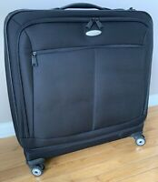 Mint $400 Samsonite Spinner 23quot; Large Glider Black Luggage Bag Suitcase