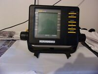 Humminbird LCR 400 Fish Finder, Head and Mount only. Untested