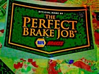 Official Home Of The Perfect Brake Job NAPA Brake Metal Sign 2 X 3 Foot