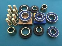 Honda ATV Hub Rebuild Kit Wheel Bearings Seals Studs COMPLETE Hub Rebuild Kit