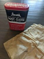 LAS STIK MFG CO SPECIALLY TREATED ABSORBANT DUST CLOTH CAN amp; CLOTH