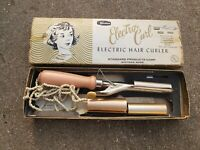 Vintage 1970s Valmor Electra Curl Electric Hair Curler. HEATS UP Model 100
