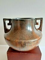 FULPER POTTERY COPPER DUST VASE SEMI MATTE GLAZE SHAPE #452