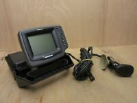 HUMMINGBIRD 400TX WIDE Portable Fish Finder Screen with Half a Case