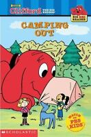 Camping Out Clifford the Big Red Dog Big Red Reader Series $4.08