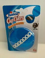 Hostess Cupcakes Snack tainer Blue Plastic Individual Cup Cake Container Holder