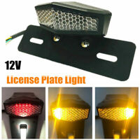 ATV LED Tail light Motorcycle Turn Signals Fender Plate Lamp Accessories