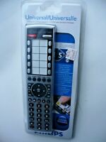 Phillips Universal Remote Control CUSTOMIZE Silver FREE N FAST shipping $17.95