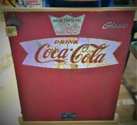 Antique Coca Cola Glasco Cooler Panel Wall Art For Sale...
