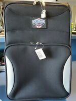 Denco Sports NBPLL206 BLK Carry On Suitcase On Wheels New Orleans Pelicans