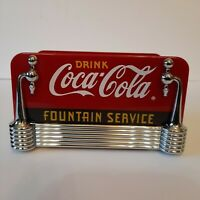 Coca Cola Salt And Pepper Holder. New Open Box.