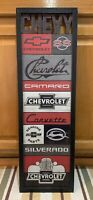 Chevrolet Sign Wall Decor Garage Truck Car Vintage Style Gas Oil SS Chevy Tools