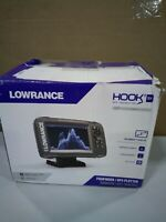 Lowrance HOOK2 Fish Finder with SplitShot Transducer and GPS Plotter
