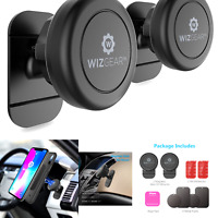 WizGear Magnetic Phone Car Mount Universal Stick On 2 Pack Dashboard Magne... $18.01
