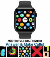 Smart Watch for iPhone iOS Android Phone Bluetooth Waterproof Fitness Tracker $19.99