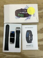 MorePro Waterproof Health Tracker Fitness Tracker Color Screen Sport Smart with $29.99