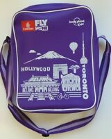 Emirates Airline Kids Travel Bag Carry On Tote Purple Lonely Planet EUC