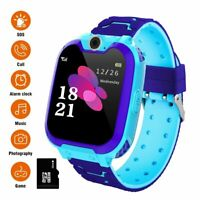 Anti lost Smart Watch Safe SOS Call GSM SIM Camera Gifts Tracker For Child Kids $23.99