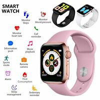 Smart Watch for iPhone iOS Android Phone Bluetooth Waterproof Fitness Tracker US $18.99