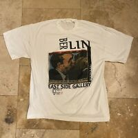Vintage Brothers Kiss Berlin East Side Gallery Art T Shirt 80s 90s Size XL