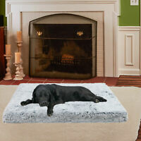 Orthopedic Dog Bed for Jumbo Dogs Waterproof Dog Beds Plush Joint Relief Pet Bed
