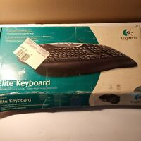 Logitech Elite Keyboard Clavier Wired Open Box with setup disk $23.00