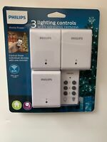 Phillips Remote Control ON OFF With 1 Transmitter and 3 Receivers Christmas B3 $22.49