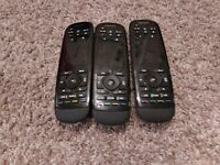 Lot of 3 Logitech Harmony Ultimate Remote Control AS IS $100.00