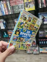 20 Sports Stories RARE KIDS DVD SEALED NEW AMAZING DVD IN NEW CONDITION DISC
