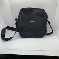 Lufthansa Airline Flight Messenger Bag Carry On Travel Tote Crossbody Pre Owned