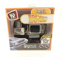 Tiny TV Classics Back to the Future Real Working Mini TV with Remote NEW $59.95