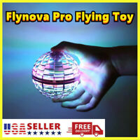 Flynova Pro Flying Toy Boomerang Spinner Ball Tricks Hand Operated Drone US