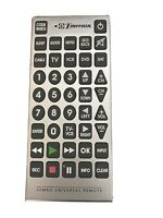 Giant Jumbo Universal Remote TV VCR DVD SAT Cable Control Big Button Remote $10.00