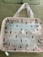 Mary Kay Clear Pink Travel Bag