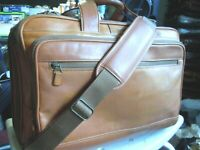 vintage Hartmann American Belting Leather Attache Briefcase canry on #8