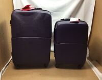 """SOLITE MAVEN 2.0 22"""" amp; 26"""" Expandable Upright Spinner Luggage 2 Pc Set —*READ*"""
