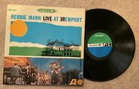Herbie Mann LP Live At Newport Atlantic SD 1413 Stereo 1963 Play Tested
